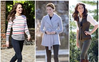 35 de ținute casual purtate de Kate Middleton