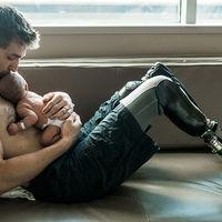 Tatii sunt supereroi! 10 fotografii incredibile