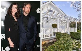 """Anne Hathaway și soțul ei și-au vândut casa de vacanță, dar au ieșit în pierdere: Care a fost prețul final pentru această """"bijuterie"""""""
