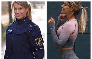 Cea mai frumoasă polițistă din Germania