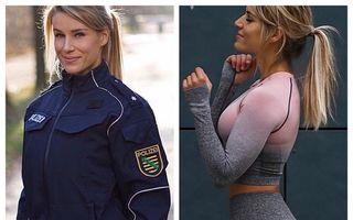Cea mai frumoasă polițistă din Germania e vedetă pe Instagram: Șefii i-au dat un ultimatum