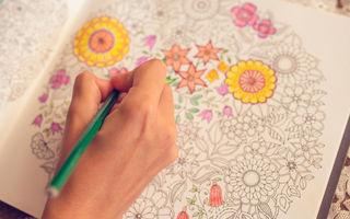 Cărțile de colorat pentru adulți: 6 beneficii pentru sănătate