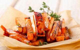 Pot veganii să mănânce cartofi prăjiți din cartofi dulci?