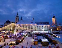 Probabil cel mai frumos târg de Crăciun din România: 10 imagini de vis din Sibiu