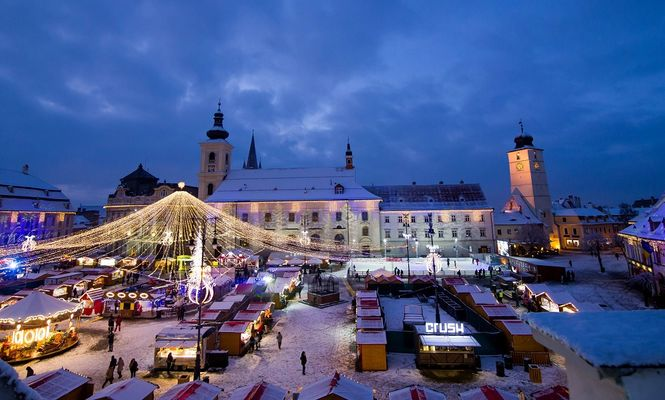Târgul de Crăciun din Sibiu