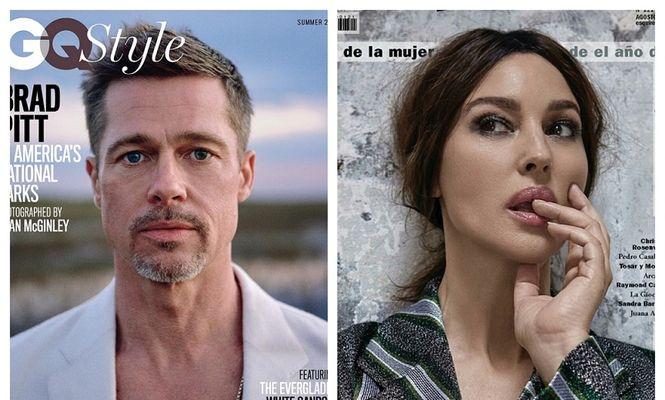 Brad Pitt, Monica Bellucci