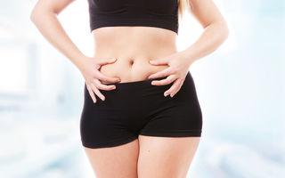 5 motive pentru care nu scapi de grăsimea de pe abdomen
