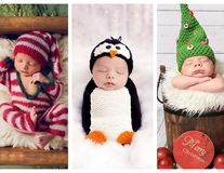 Cei mai frumoși spiriduși: 35 de bebeluși gata de prima lor întâlnire cu Moș Crăciun