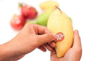 Când fructele o iau pe coajă: Eticheta care le păstrează proaspete