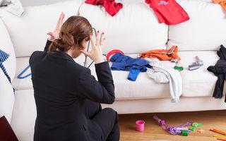 Cum te poate stresa dezordinea din casă