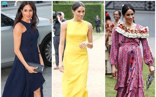 Meghan Markle a avut cea mai scumpă garderobă regală în 2018