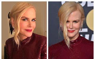 Nicole Kidman ne arată obrazul: Cum reușește vedeta să arate perfect la 51 de ani