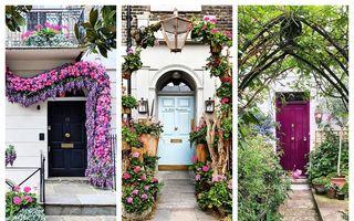 Ce frumuseți! Casele cu cele mai frumoase uși de intrare din Londra