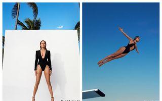 Picioare lungi și pieptul înainte: Jennifer Lopez arată ireal la 49 de ani - FOTO