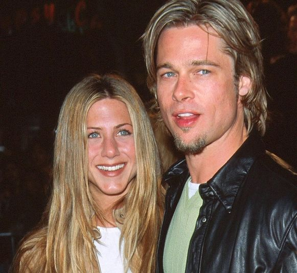 Jennifer Aniston și Brad Pitt