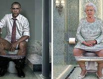 Modul neașteptat în care o artistă ne arată că liderii lumii sunt și ei oameni - FOTO