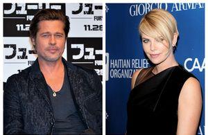 Brad Pitt și Charlize Theron