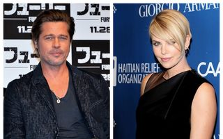 Brad Pitt și Charlize Theron, un cuplu formidabil: Sean Penn i-a adus împreună