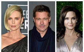 """Brad Pitt a nimerit într-un """"cuib de viespi"""": De ce se urăsc Charlize Theron și Angelina Jolie"""