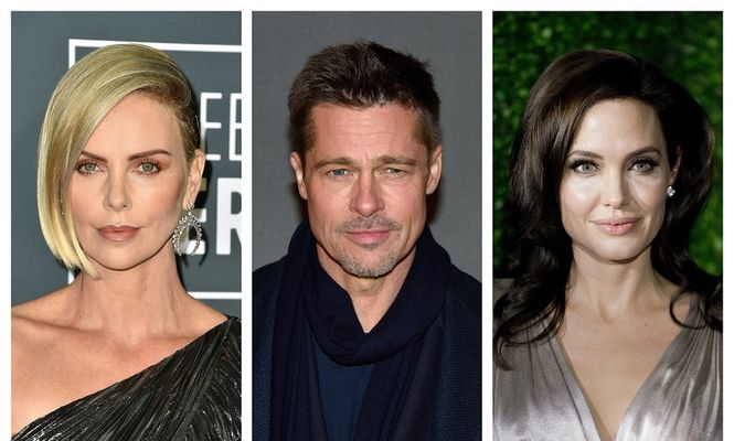 Charlize Theron, Brad Pitt, Angelina Jolie