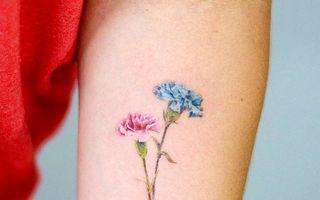 Ce tatuaj floral ţi se potriveşte, în funcţie de luna în care te-ai născut