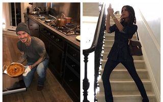Acasă la familia Beckham: Incursiune în viața unor oameni bogați