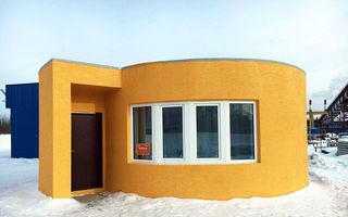 Casa construită cu o imprimantă 3D: Poate fi locuită în doar 24 de ore și rezistă 175 de ani