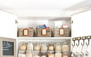 Cum să-ți organizezi bucătăria folosind borcane din sticlă. 30 de idei