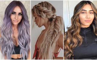 40 de idei de pe Instagram pentru părul lung