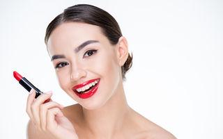 6 trucuri de machiaj care îți fac dinții să pară mai albi