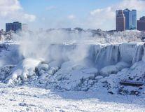 Regatul Frozen. Vortexul polar a înghețat cascada Niagara: 16 imagini spectaculoase