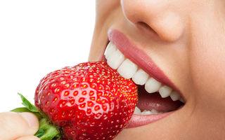 5 alimente care îți albesc dinții în mod natural