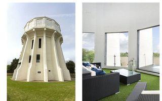 Cea mai frumoasă casă: Un castel de apă din 1930, transformat într-o locuință cochetă, cu panoramă de 360 de grade - FOTO