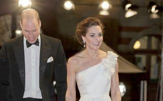 Kate Middleton, regina balului la Premiile BAFTA. Ducesa a purtat o ținută impecabilă