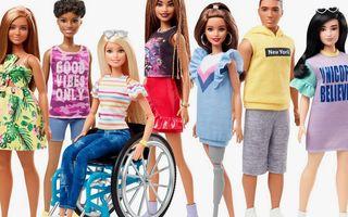 Noua colecție Barbie va include păpuși în scaun cu rotile sau cu proteză de picior