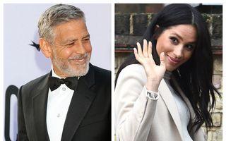"""George Clooney o apără pe Meghan Markle: """"O femeie însărcinată e vânată şi hărţuită la fel ca prinţesa Diana"""""""