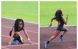 Usain Bolt, uită-te în spate! Cel mai rapid copil de 7 ani din lume aleargă suta de metri în mai puțin de 14 secunde - VIDEO