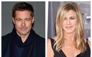 Ce a căutat Brad Pitt la petrecerea pe care Jennifer Aniston a dat-o de ziua ei: Prima dragoste nu se uită niciodată!