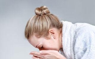 7 greșeli pe care le faci când te speli pe față