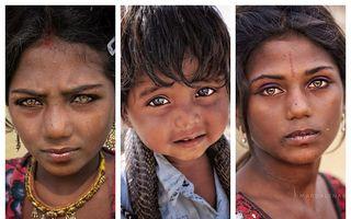 Săraci și frumoși: 27 de oameni obișnuiți din India cu chipuri expresive