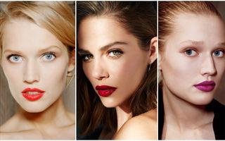 Cum trebuie să arate machiajul ochilor atunci când porți ruj roșu