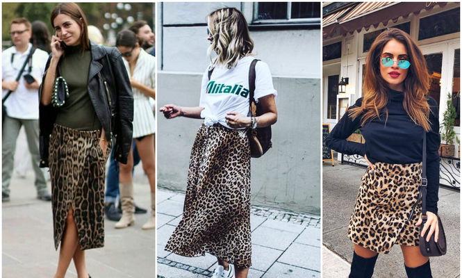 Cum să porți fusta cu imprimeu leopard în această primăvară