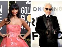 """Scandal după moartea lui Karl Lagerfeld. Designerul, atacat de Jameela Jamil: """"Un om fără milă, un misogin"""""""