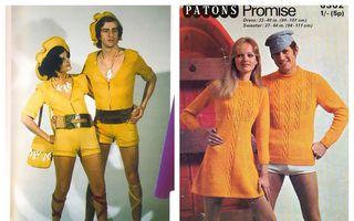 50 de ținute de tot râsul ale cuplurilor din anii '70. Nimeni nu le-ar mai purta acum!