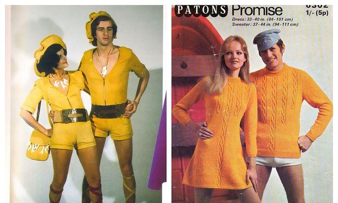 modă anii 70