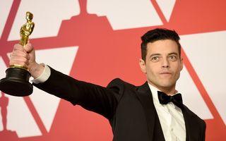 """Rami Malek a căzut de pe scenă cu Oscarul în mână. Starul din """"Bohemian Rhapsody"""" a avut nevoie de ajutorul medicilor"""