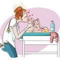 Mamă, iartă-mă pentru tot! 15 ilustraţii care te vor face să o apreciezi mai mult