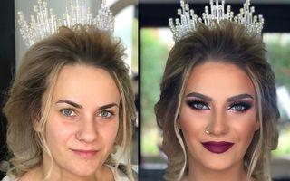 Cum arată miresele înainte şi după machiajul de nuntă: 25 de transformări incredibile