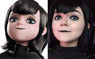 O tânără se transformă în orice personaj cu ajutorul machiajului. 15 imagini uimitoare