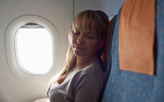De ce unii oameni adorm mai ușor în avion?